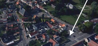 Nouvel emplacement du marché du village